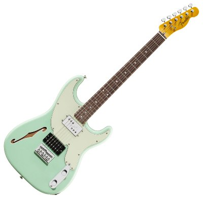 Fender Pawn Shop 72 Green Fender Pawn Shop 72 Strat Sea