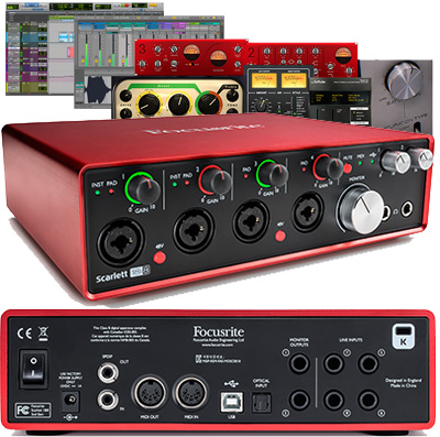 focusrite scarlett 18i8 2nd generation usb audio interface 18 in 8 out. Black Bedroom Furniture Sets. Home Design Ideas