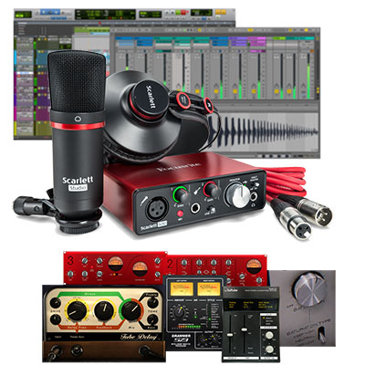 Focusrite Scarlett Solo Studio - 2nd Gen USB Audio Interface