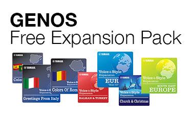 Yamaha genos for Yamaha expansion pack