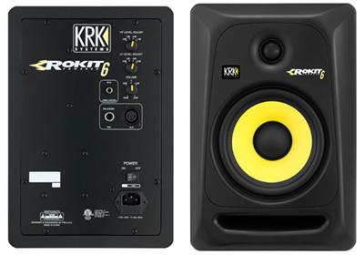 krk rokit rp6 g3 studio monitor black. Black Bedroom Furniture Sets. Home Design Ideas