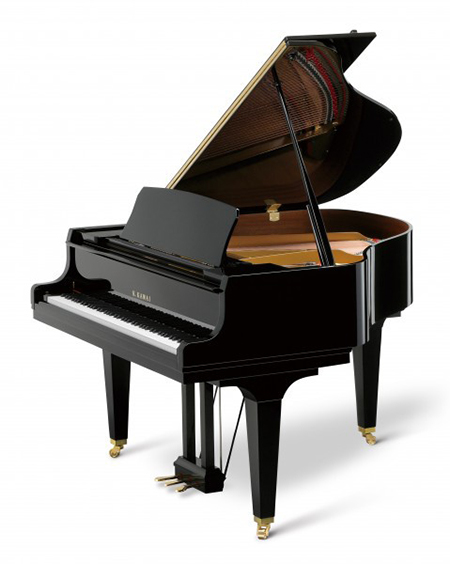 Kawai gl 10 5ft acoustic baby grand piano for Baby grand piano height