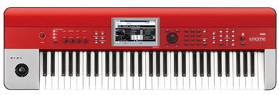Korg KROME Workstation - Limited Edition Red