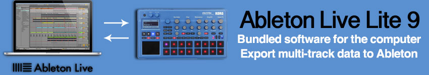 korg electribe emx2 bl music production station in blue. Black Bedroom Furniture Sets. Home Design Ideas