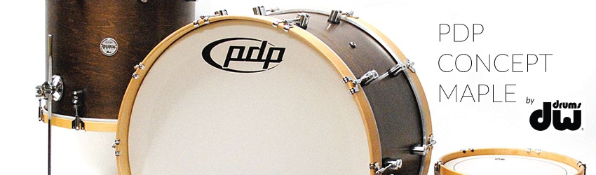 pdp concept maple classic 22 bass drum 13 rack tom 16 floor tom. Black Bedroom Furniture Sets. Home Design Ideas