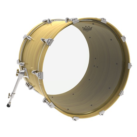 remo ambassador clear 20 bass drum head. Black Bedroom Furniture Sets. Home Design Ideas
