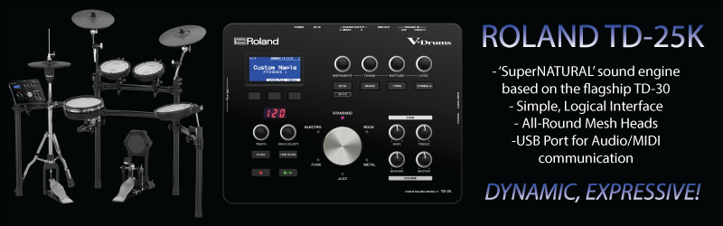 Roland TD-25K Key Points