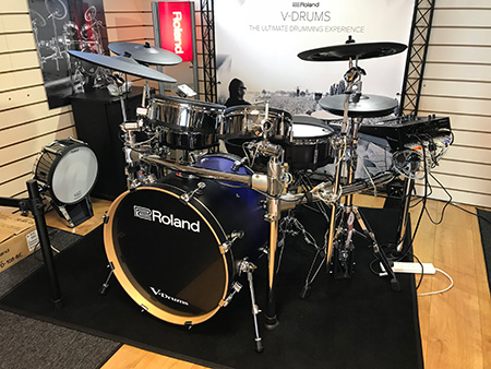 the all new flagship roland td 50kv v drum kit ex demo. Black Bedroom Furniture Sets. Home Design Ideas