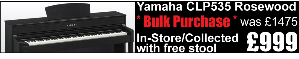 Yamaha CLP535 Rosewood Special Offer