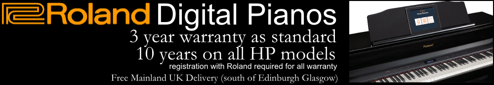 Roland Digital Pianos Warranty