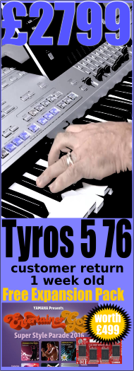 1 off special offer Tyros 5