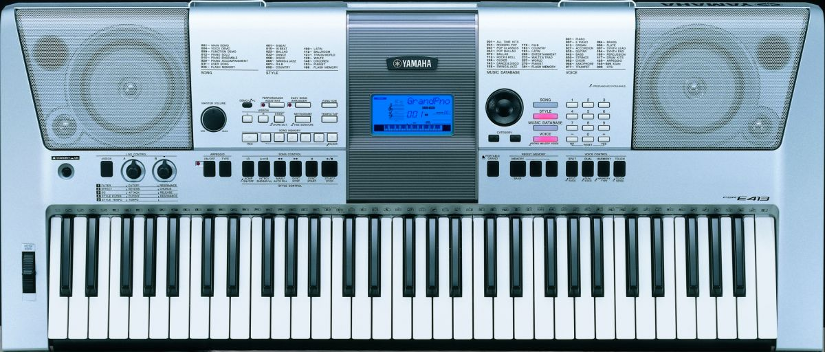 Yamaha psre413 keyboard for Www yamaha keyboards