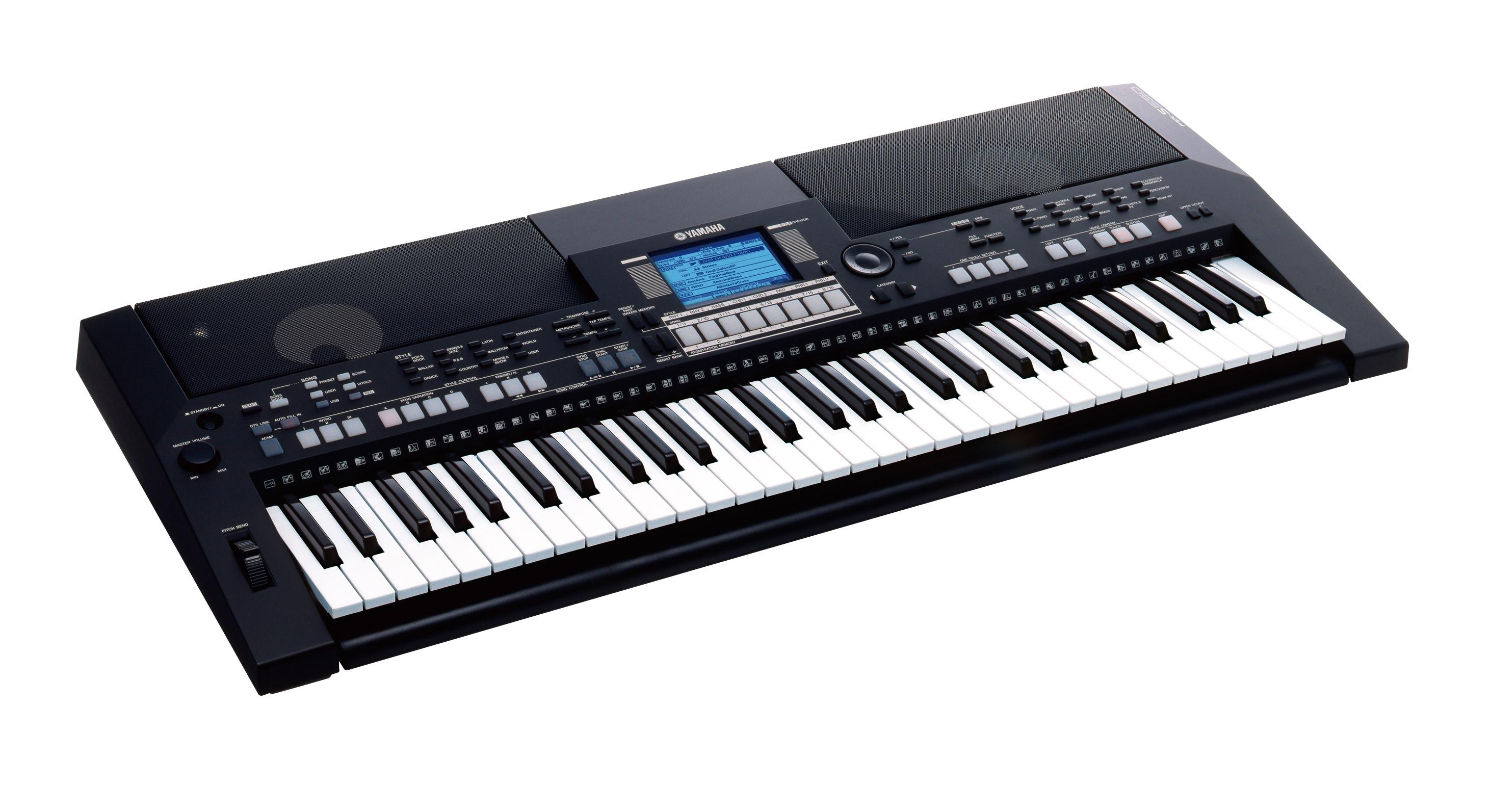 Yamaha psrs550 keyboard for Www yamaha keyboards