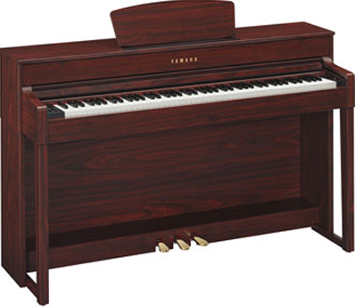 yamaha clavinova clp 535 mahogany. Black Bedroom Furniture Sets. Home Design Ideas