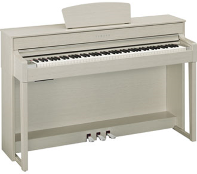 yamaha clavinova clp 535 white ash. Black Bedroom Furniture Sets. Home Design Ideas