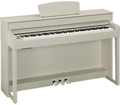 Yamaha clavinova clp 535 white ash for Yamaha 535 piano