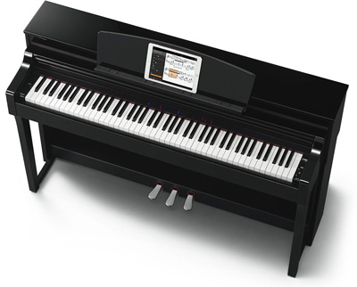 Yamaha csp150 polished ebony smart piano for Yamaha digital piano philippines