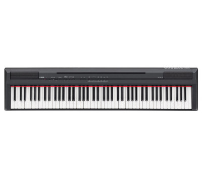 Yamaha p105 black portable piano for Yamaha p105 digital piano bundle