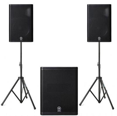 Yamaha dxr pa system pair of dxr10 speakers single for Yamaha dxs12 specs