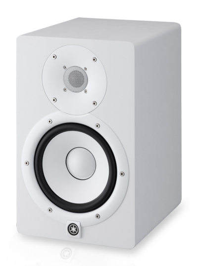 yamaha hs7w studio monitor speaker white
